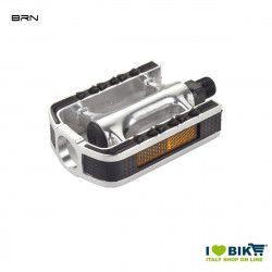 Pair of aluminium City-Touring Pedals BRN  - 1