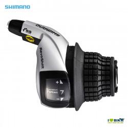 Shimano SL-RS45 Dx 7 speed revoshift shifter silver