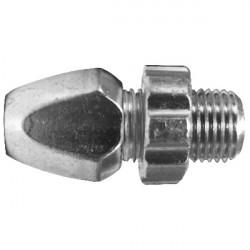 Registro per leva freno in alluminio da 10 mm  - 1