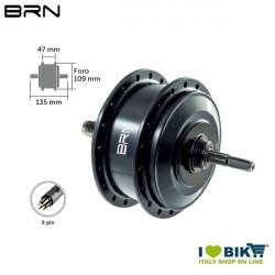 Rear engine 250W MOD 1000 Thread BRN