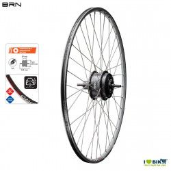 Wheel with immediate rear motor Brn 250 W cassette - various sizes  - 1