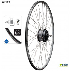Wheel with Brn 250 W front motor - various sizes  - 1