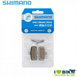 Shimano pads for disc brakes resin D03S XT 4 pistons