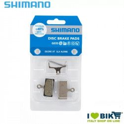 Pastiglie Shimano per freni a disco resina G03S 2 pistoni XTR
