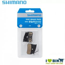 Pastiglie Metalliche SHIMANO N04C 4 pistoni XTR