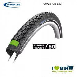 Copertone Schwalbe Marathon 700x28 HS 420 TwinSkin nero/reflex