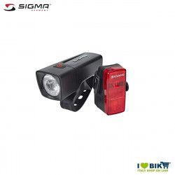 Sigma Aura 25 + Cubic Battery Led Headlight Set front+rear