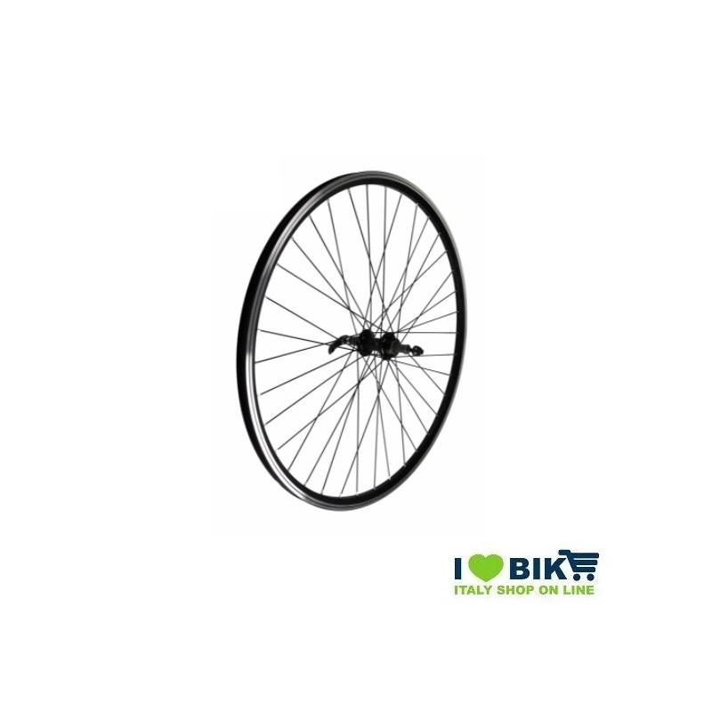 Wheel 28 City-Bike rear threaded Black Hub on bearingsc  - 1