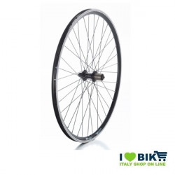 Ruota 28 City-Bike posteriore Nera a cassetta 8-9-10 v  - 1