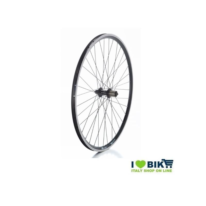 Wheel 28 City-Bike rear Black cassette 8-9-10 v  - 1