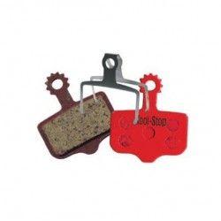 D-296 Pair Organic pads for disc brakes Avid Elixir