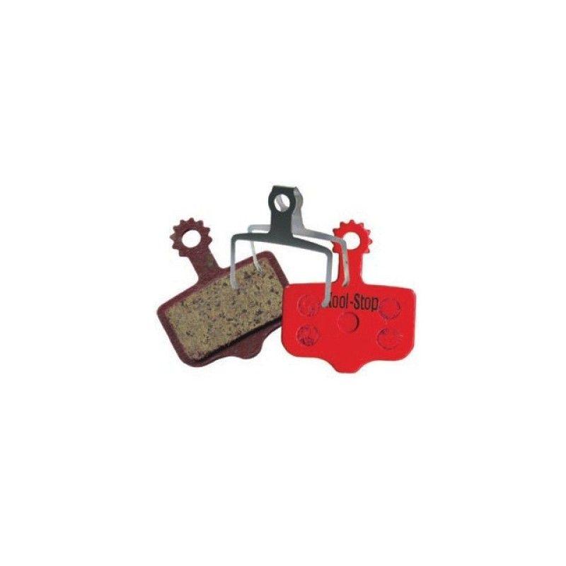 D-296 Pair Organic pads for disc brakes Avid Elixir  - 1