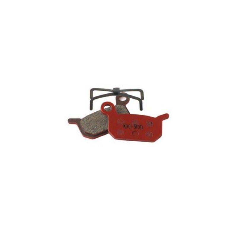 D-310 Pair Organic pads for disc brakes Avid Formula B4  - 1