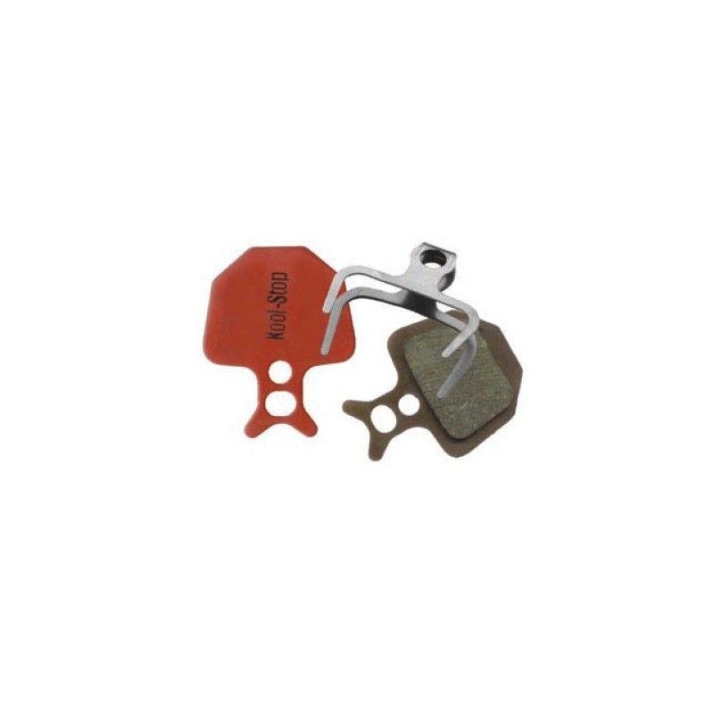 D-320 Pair Organic pads for disc brakes Avid Formula Oro  - 1