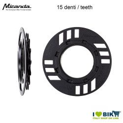Miranda Paracatena + Pignone 15 Denti Offset 5 mm Bosch 2Gen Winora - 1