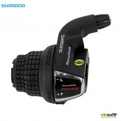 Comando Cambio revoshift Shimano SL-RS35 SX a frizione nera Shimano - 1