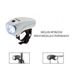 Headlight 5 LED White Adventure 3 functions