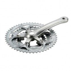 30/42/52 triple crankset compatible with crankcase (R + L)