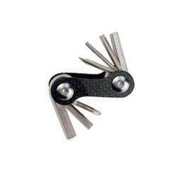 Multipurpose wrench 7 functions super light BRN - 1