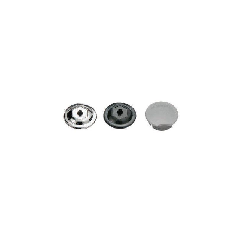 crank cap for plastic in assorted colors  - 1