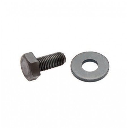 Screw with washer movement