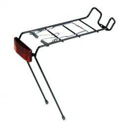 Rear rack 20-24-26-28 in iron black  - 1