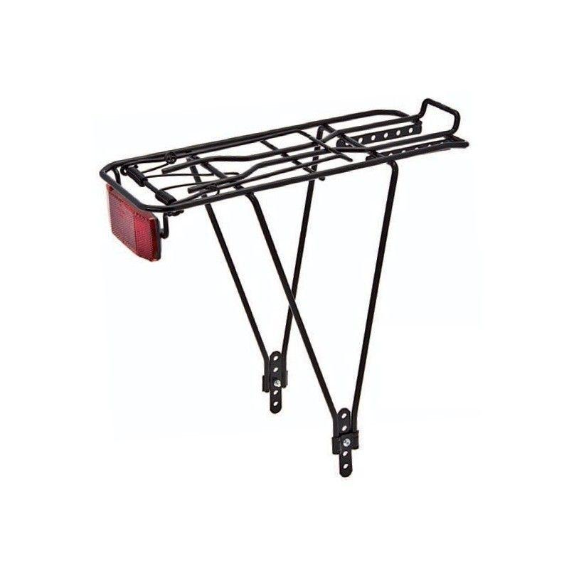 Rear rack adjustable in iron black  - 1