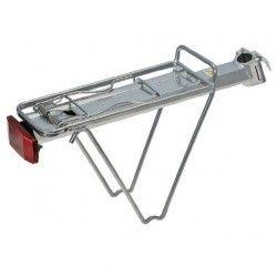 Portapacco in alluminio al reggisella Trekking silver  - 1