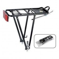 POR82N vendita on line accessori bici portapacchi posteriori registrabili portapacco per bicicletta