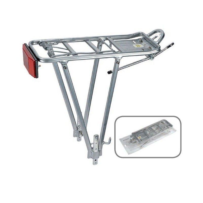 Rear rack Universal silver Aluminium  - 1