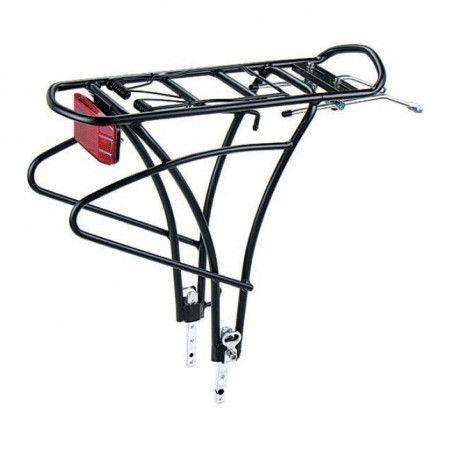 POR80 vendita on line accessori bici portapacchi posteriori registrabili portapacco per bicicletta