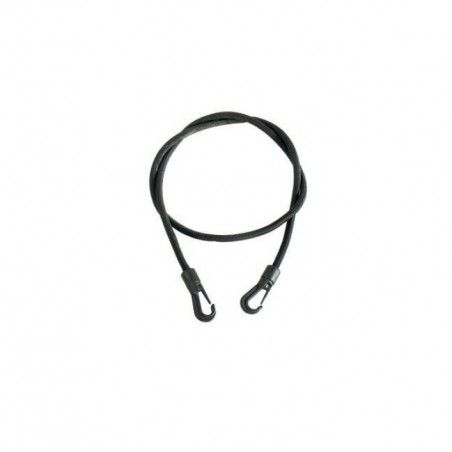 Elastic parcel rack with plastic hooks 50 cm