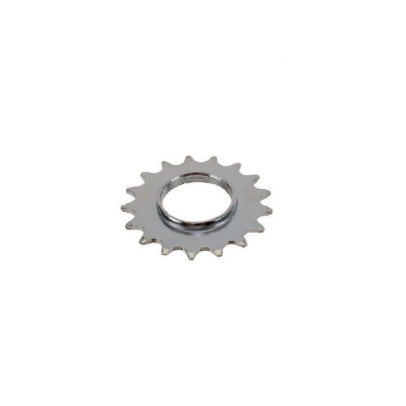 Front 18 teeth hub Track Chrome  - 1