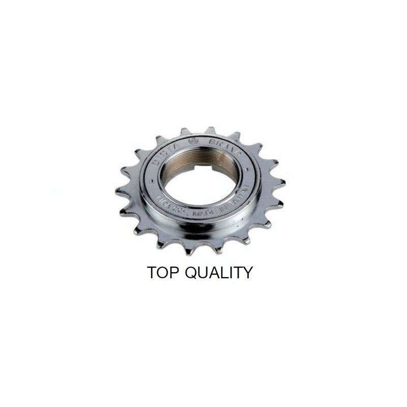 Freewheel simple 18 tooth Chrome Top Quality  - 1