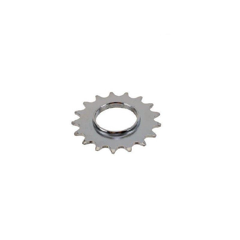 Front 14 teeth hub Track Chrome  - 1
