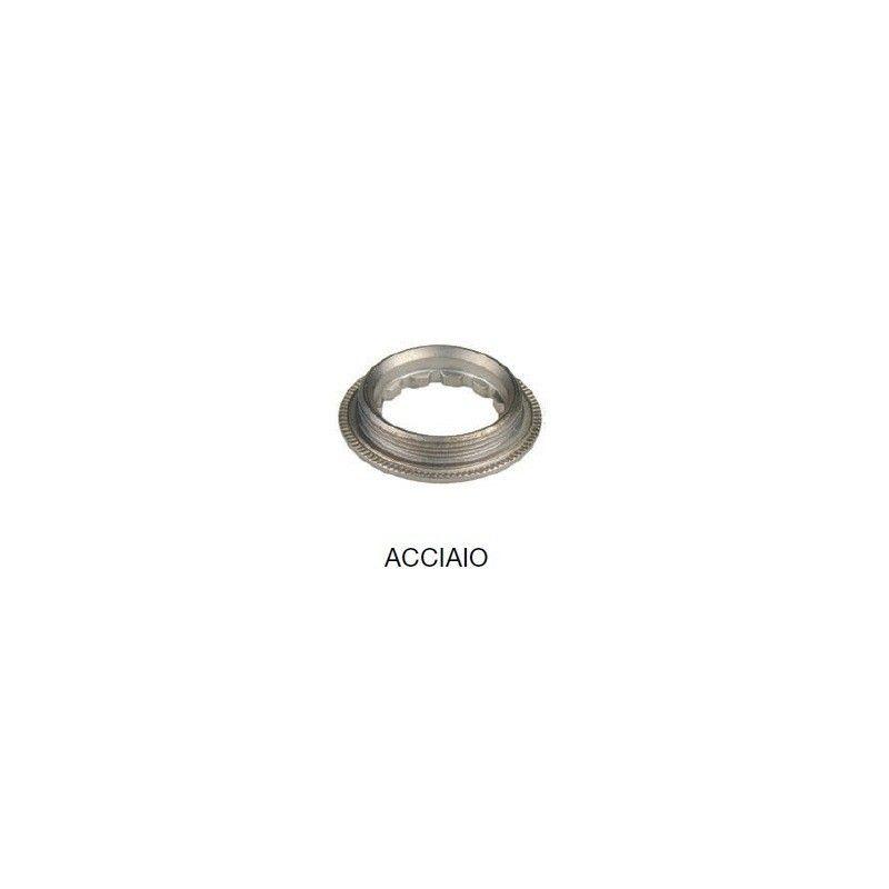 Shimano 8/9/10 v Stainless Steel Locking ring  - 1