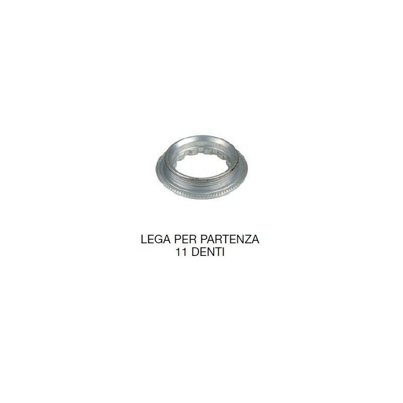 Shimano 8/9/10 v. con part. 11 Alloy Locking ring  - 1
