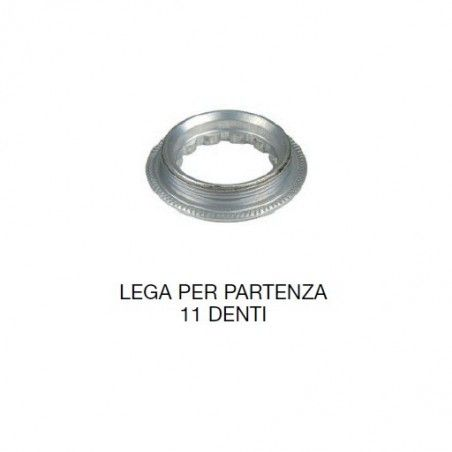 Alloy Locking ring for Shimano 8/9/10 v. Part with. 11