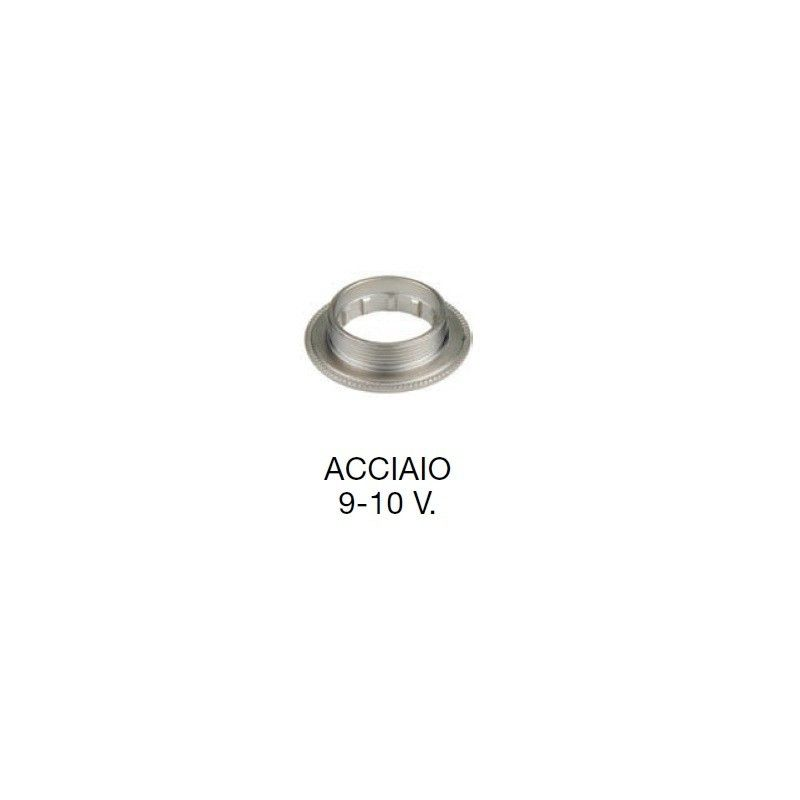 Campagnolo 9/10 v Stainless Steel Locking ring  - 1