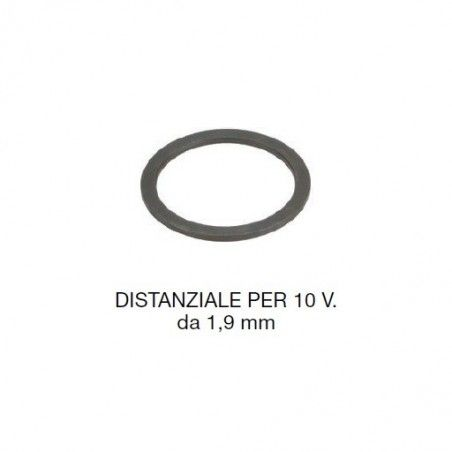black spacer 1.9 mm for Campagnolo 10 v