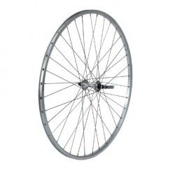 Front Wheel 28 Stroke 36 holes machined silver  - 1