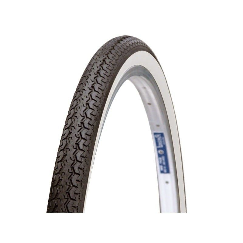 Tires 26 x 1.3 / 8 white / black traditional BONIN - 1