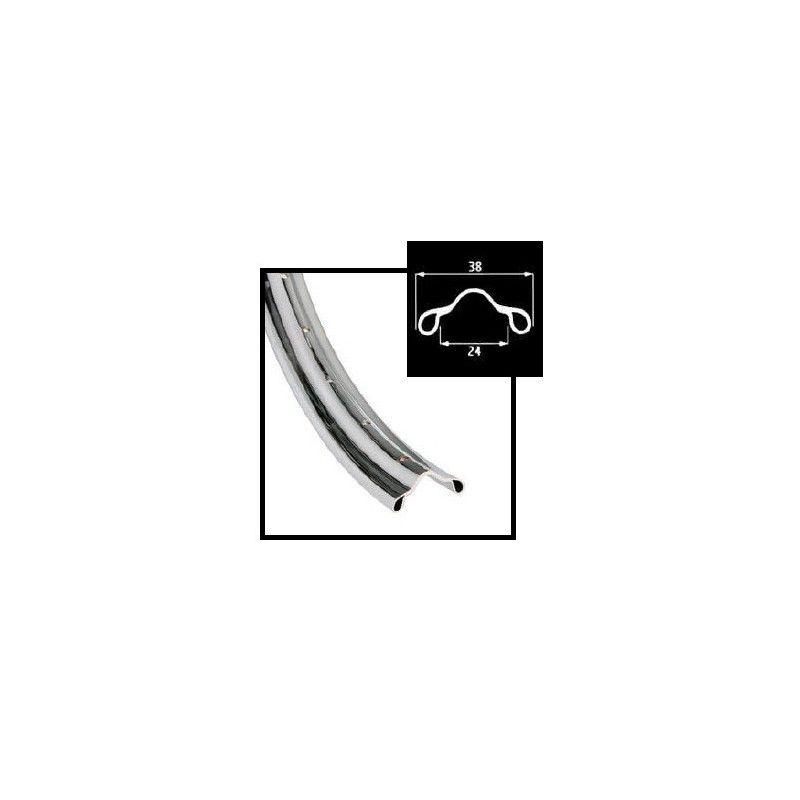 Circle chromed steel R 28 5/8  - 1