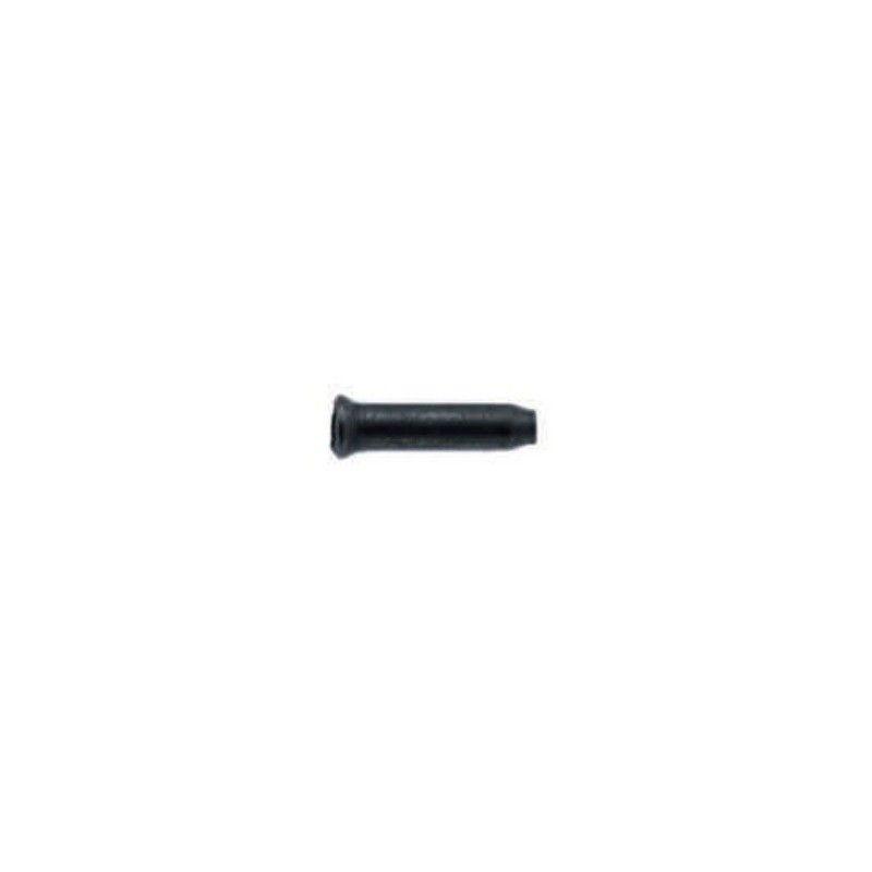 Terminals r 1.6 mm black - 4 pieces  - 1