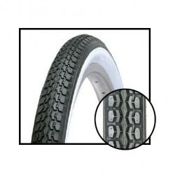 traditional Tires 24 x 1.75 white / black