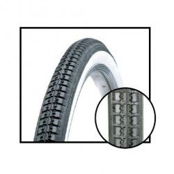 Tires 26 x 1.1 / 2 Black/White Traditional
