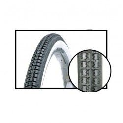 vintage tires 22 x 1.3 / 8 (37-501) black / white