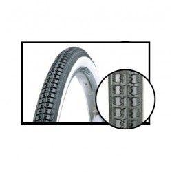 vintage tires 22 x 1.3 / 8 (37-501) black / white