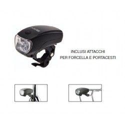 Headlight 5 LED Black Adventure 3 functions  - 1