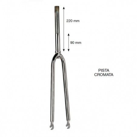 Track Fork chrome 28